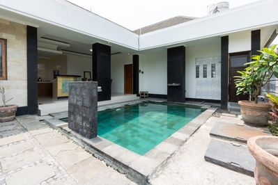 Full building of villa with private pool