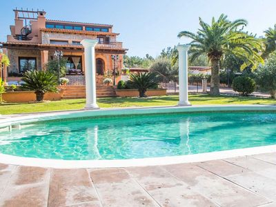 Photo for Finca Bunyola, Elegant 5BR with AC, Private Pool, short drive to Palma
