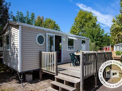 Photo for Camping Resort La Rive ***** - Maeva Camping - Mobile Home Comfort 4 Rooms 6 People