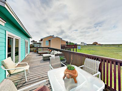Photo for 3BR, 3BA Port Aransas Lost Colony House—Large Deck, Boardwalk to Beach, Pool
