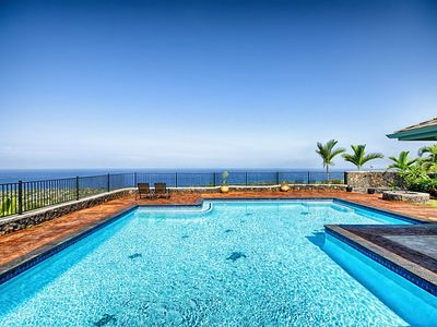 Photo for Luxury great oceanview large pool/Spa 2 mins to beaches best value in Hawaii