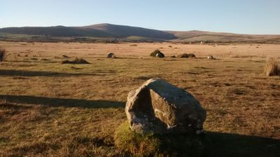 Gors Fawr stonecircle is the same age as Stonehenge, just 5 minutes walk away...