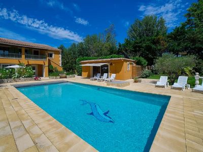 Photo for Avignon vacation home rental for groups & families on an island - 10 to 14 peopl