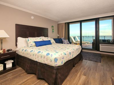 Photo for Beautiful Views from the Huge Balcony Newly Renovated Oceanfront Condo