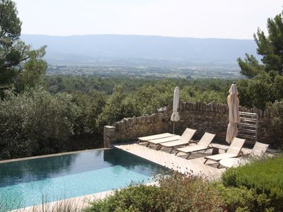 Photo for Stunning Views, Garden and Infinity Pool