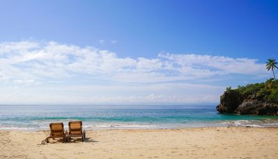 Photo for Paradise with a beach in /w breakfast for two
