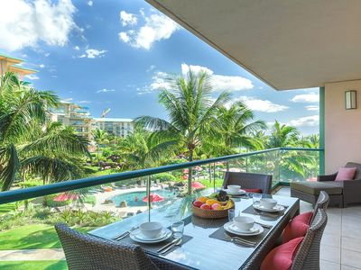 Photo for K B M Hawaii: Ocean Views, Grand Suite 3 Bedroom, FREE car! Nov, Dec, Jan Specials From only $479!