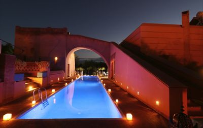 Photo for architect 's villa, modern and African decoration, hammam pool and spa.