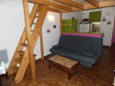 Photo for Mezzanine studio for 4 persons close to the beach