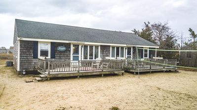 Photo for Three bedroom duplex less than 500 ft to the shared/private beach