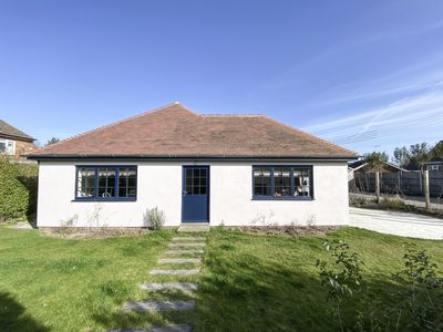 Photo for Open plan modern beach house 200m from Old Hunstanton beach, big private garden