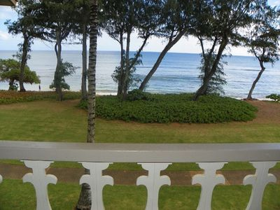 Photo for #329 - Direct Oceanfront Kauai Rental By Owner Ocean View FREE WiFi Parking A/C