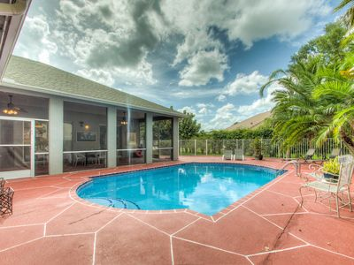 Photo for Polo Haven WEF Equestrian Center Pool Home Centrally in Wellington Florida