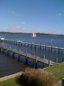 Photo for Annapolis Custom Designed Waterfront Home, Breathtaking Views, Private Pier