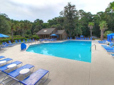 Hilton Head Resort w/ Splash Pad, Cabanas & Putting Green!