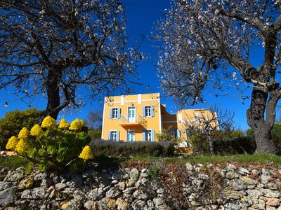Photo for Authentic yet modern villa and cottage with pool near Loule, ideal for families