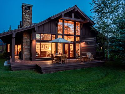 Photo for Luxury cabin with Teton views at Jackson Hole Golf & Tennis