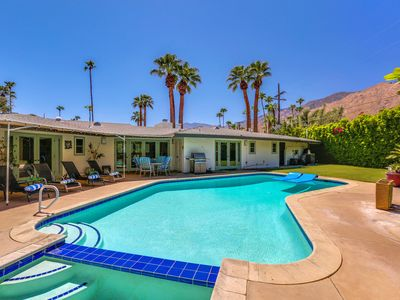 Photo for Sunstruck Palm Springs: 2 BR / 3 BA home in Palm Springs, Sleeps 4