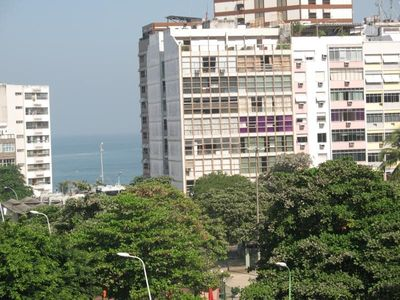Photo for Belo fit overlooking Gal Osório Square and next to Ipanema beach