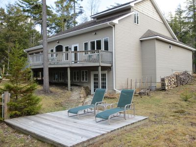 Photo for Beautiful Waterfront Adirondack Mountain Home