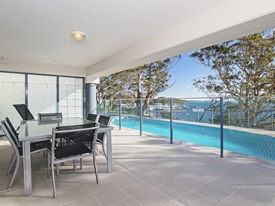 Photo for 13 'Le Vogue' 16 Magnus Street - close to the Marina and beautiful views of Nelson Bay Marina