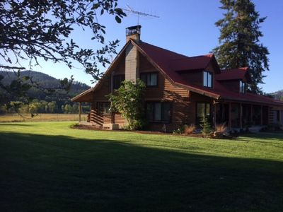 Log Home Getaway on 7 Private Acres -  Escape to the country
