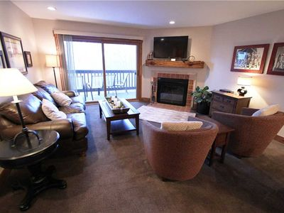 Photo for Snow Flower Condo #142, 2 bedroom 2 bath, sleeps 6, SKI-IN/SKI-OUT to Park City Mountain Resort