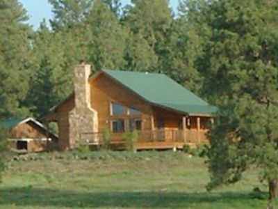 Photo for Private Cozy Log Cabin on 70 Acres in Pagosa Springs, Colorado