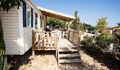 Photo for Camping La Baie des Anges **** - Air Conditioned Villa 4 rooms 6 persons