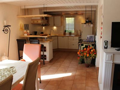 Photo for Holiday home for up to 7 people, wheelchair accessible, with red light cabin