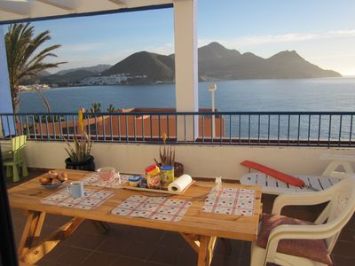 Photo for Appartment in front of the sea in the Natural Park of Cabo de Gata