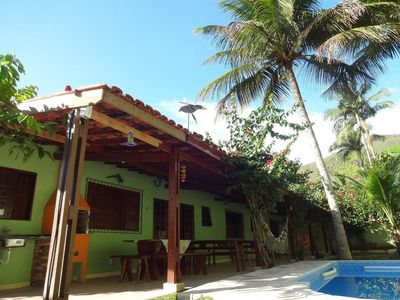 Photo for Beautiful house with pool, balcony, barbecue, sleeps 12 people, Vacancy 3 cars