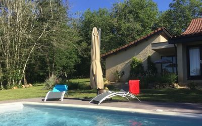 Photo for La Maison des Chênes, Self-catering holiday home with private pool for 2 persons