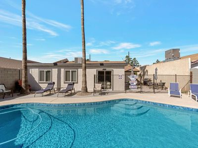 Photo for Private Gated Pool & BBQ! Dog Friendly, Close to ASU, 101 Freeway & Old Town Scottsdale, Wifi