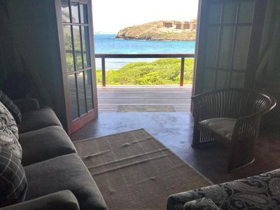 Photo for Fabulous 3 bedroom villa overlooking ocean in Christophe Harbour neighborhood.