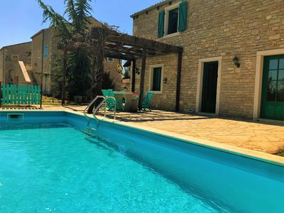 Photo for Villa in central Istria with a private pool, family and pet friendly