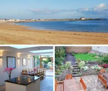 Photo for Spacious Elie Holiday House Ideally Situated Between Gently Shelving Blue Flag B