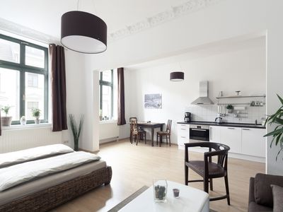Photo for Beautifully equipped apartment directly in the center of Leipzig