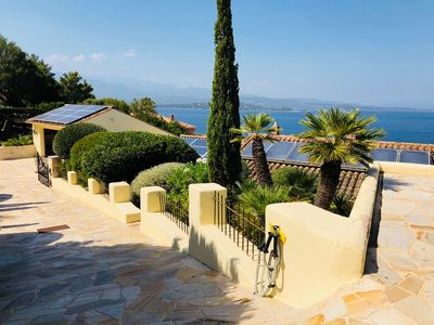 Photo for Fantastic view of the sea from large pool terrace