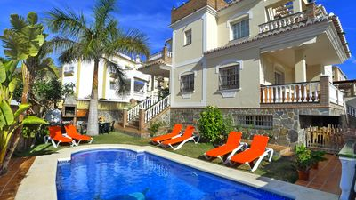 Photo for Luxury Villa - Sleeps 10 - A/C - Private Pool - Free Wifi - 1600m From The Beach