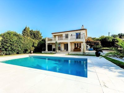 Photo for Exceptional villa in the heart of Saint Tropez with swimming pool