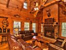 5BR Cabin Vacation Rental in White Haven, Pennsylvania