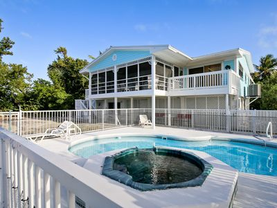 Photo for Waterfront home with pool, hot tub, & amazing views of the Gulf of Mexico!