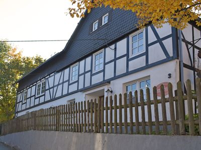 Photo for Large holiday home in the Sauerland region with sauna, fitness equipment, garden and terrace