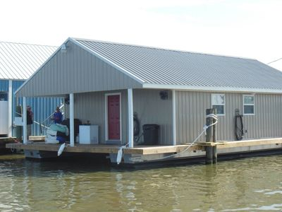 Photo for Houseboat @ Venice Marina (Roosters Den)