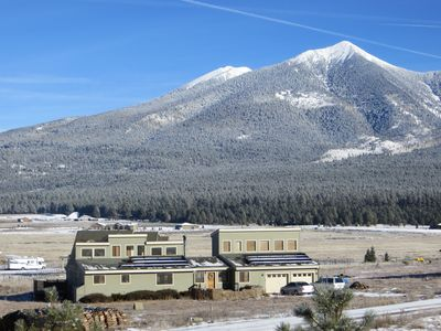 Photo for Breathtaking view of the peaks, total privacy, super close to AZ Snowbowl!
