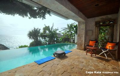 Photo for Cape Kata Oceanfront Villa