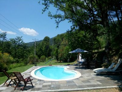 Photo for Provencal farmhouse in a quiet pool on the French Riviera