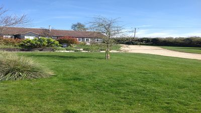 Photo for North Norfolk dog friendly apartment with garden