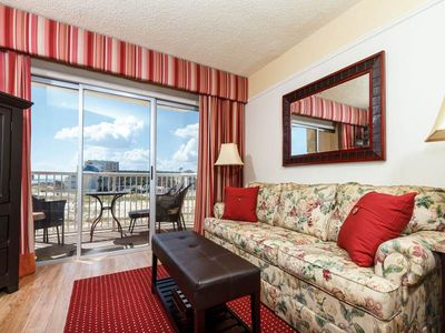 Photo for LET THE BEACH VACATION BEGIN in this gulf front third floor condo!!